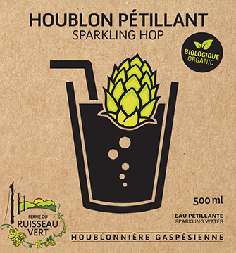 Houblon pétillant / Bio / 500 ml
