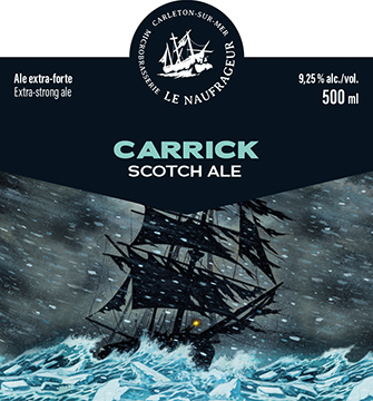Carrick / Scotch ale / 9,25% / 500 ml