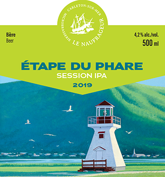 Étape du Phare / Session IPA / 4,2% / 500 ml