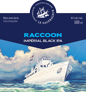 Raccoon / Imperial Black IPA / 10% / 500 ml