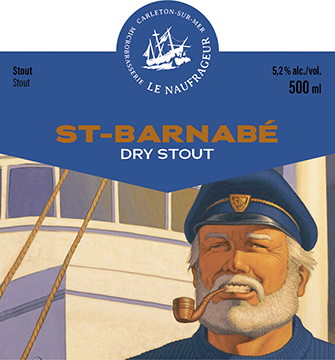 St-Barnabé / Dry stout / 5,2% / 500 ml